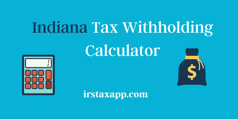 indiana tax calculator